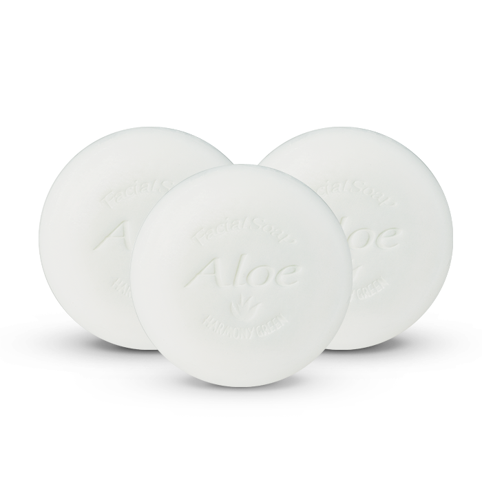 Aloe Facial Soap 3 Pack