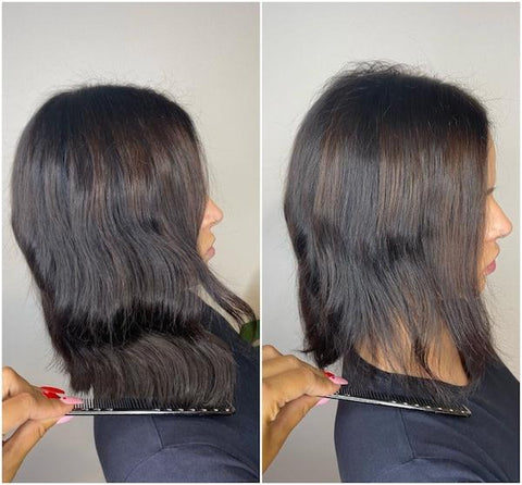 @p.joneshair styles the MEDIUM Halo in col. Dark Brown and Medium Brown #2/4