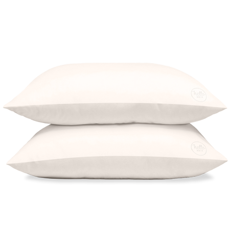 Hello Hair Pure Silk Pillowcase Duo | Ivory White