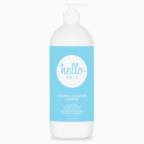 Hello Hair Natural Hydrating Shampoo 1L