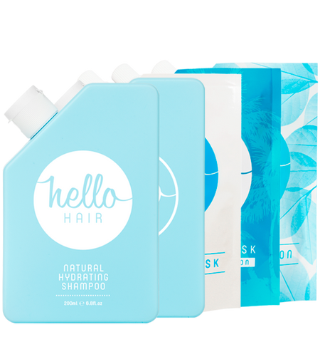 Hello Hair 'Hydrate Your Hair' Pack