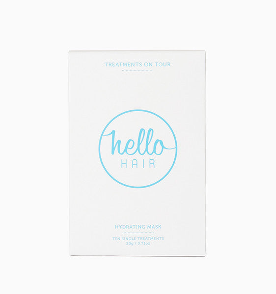 Hello Hair Treatments on Tour | BACK IN STOCK