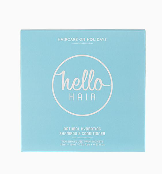 HELLO HAIR HAIRCARE ON HOLIDAY | LOW STOCK