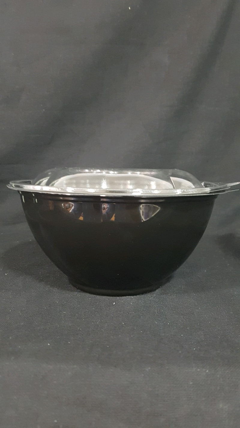 32 oz Black Base Salad Bowl