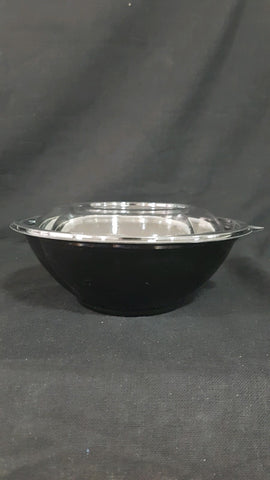 24 oz Black Base Salad Bowl