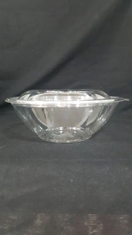 24 oz Clear Base Salad Bowl