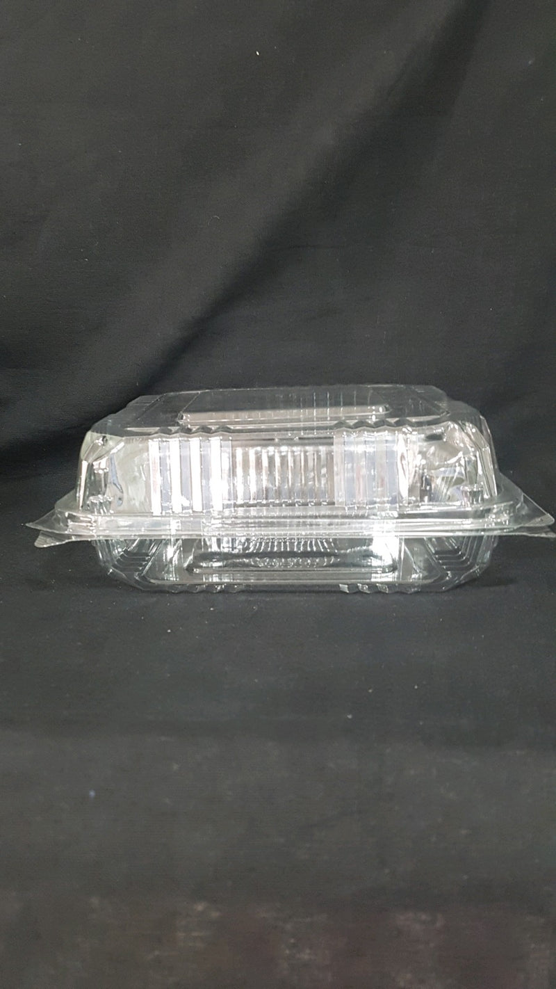 Clear square container large