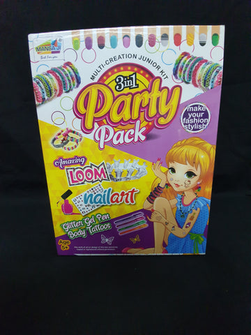 3 in 1 Party Pack.