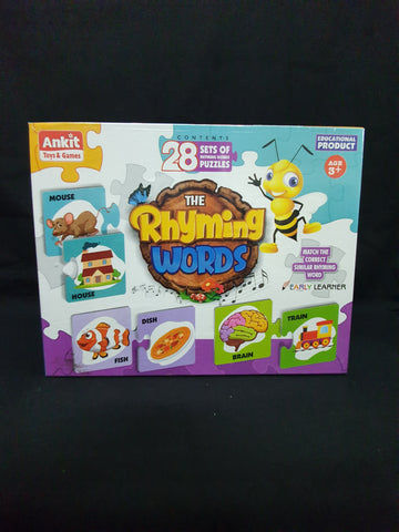 Rhyming Words Puzzle