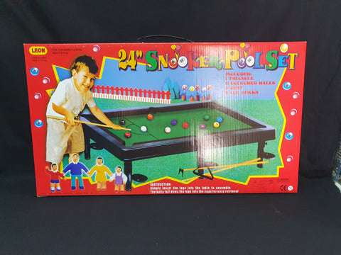 "24"" Snooker Pool Set"