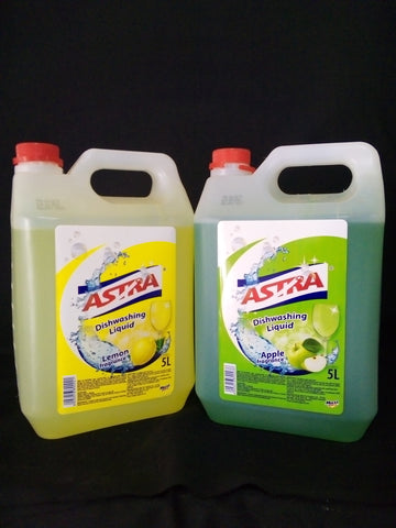 Astra Dish Washing Liquid 5litres ( price per each)
