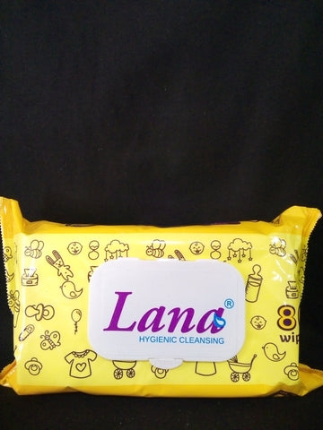 Lana Baby Wet Wipes with cover