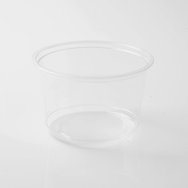 Deli Container Round 24oz - PET with Clear LID