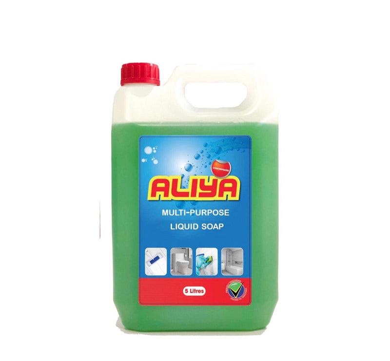 Aliya Multi Purpose Liquid Soap 5 Ltrs