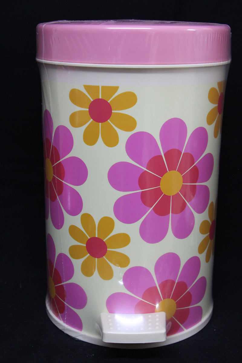 Flower Hydraulic Dustbin