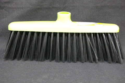Black Soft Cleaning Broom with Stick