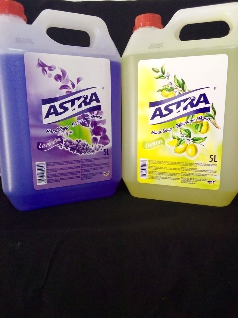 Astra Hand Soap 5 litre (price per each)