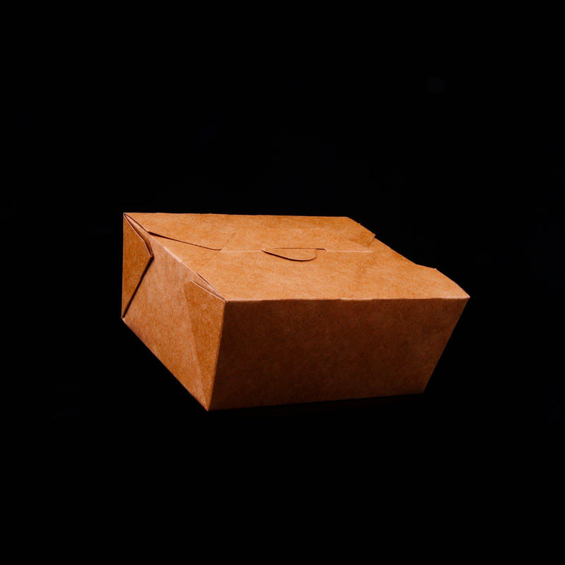 Kraft Take Away Box 32oz. (142x111x64mm)