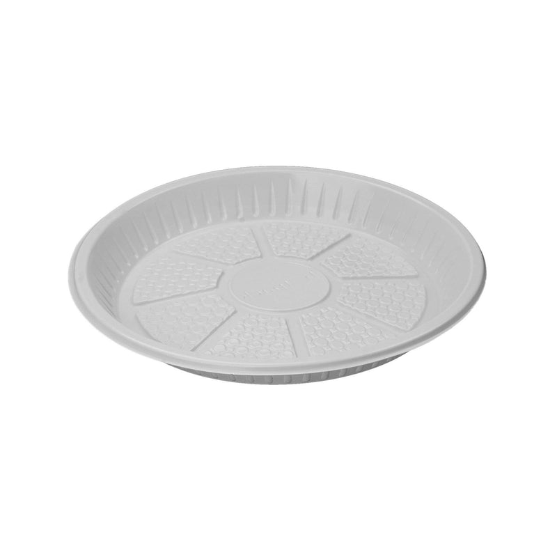 "Round Plastic Plate 9""(25 Pieces)"