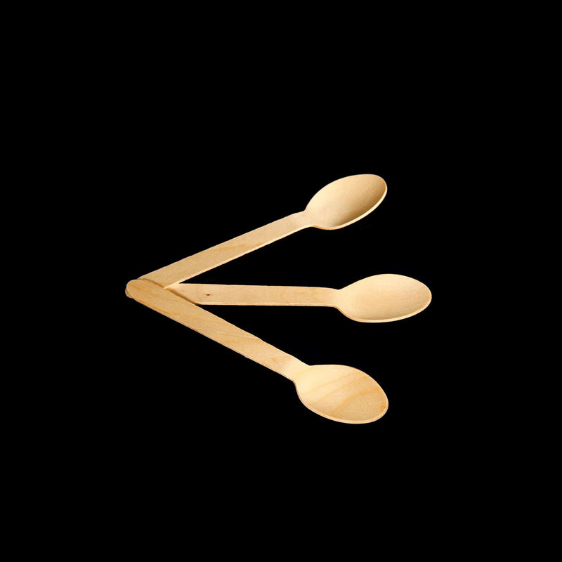 WOODEN SPOON (100pcs Per Packet)