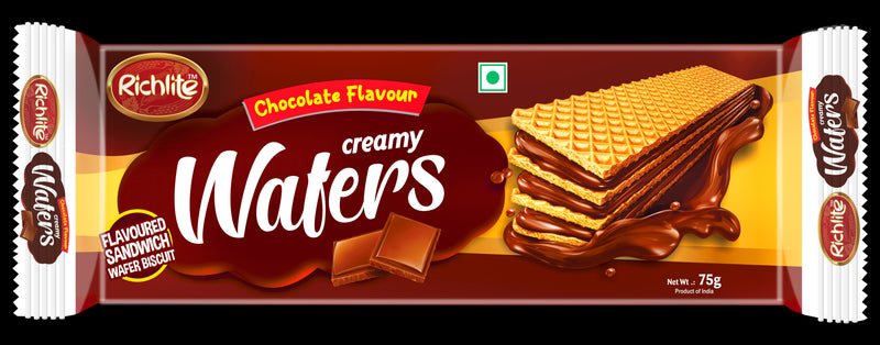 Richlite Chocolate Flavour Creamy Wafers 75gms/150gms