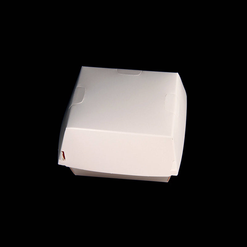 White Burger Box Large
