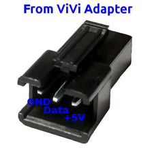 Load image into Gallery viewer, ViVi LED Adapter, Molex 4-pin to JST 3-pin