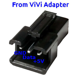 ViVi LED Adapter, Molex 4-pin to JST 3-pin