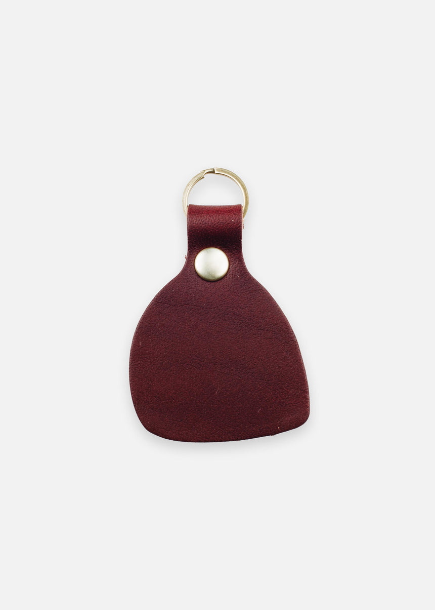 Bordeaux Wabi Sabi Fob in Latigo
