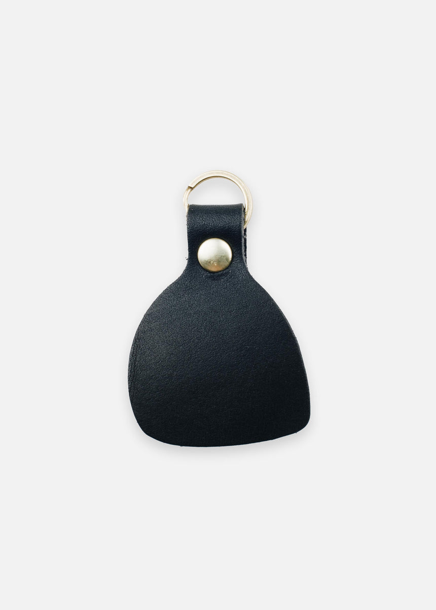 Jet Black Wabi Sabi Fob in Latigo