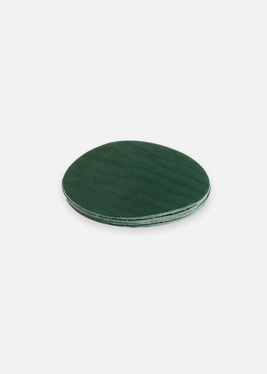 Kelley Green Coaster Set in Latigo