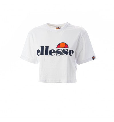 Ellesse Crop T-shirt White