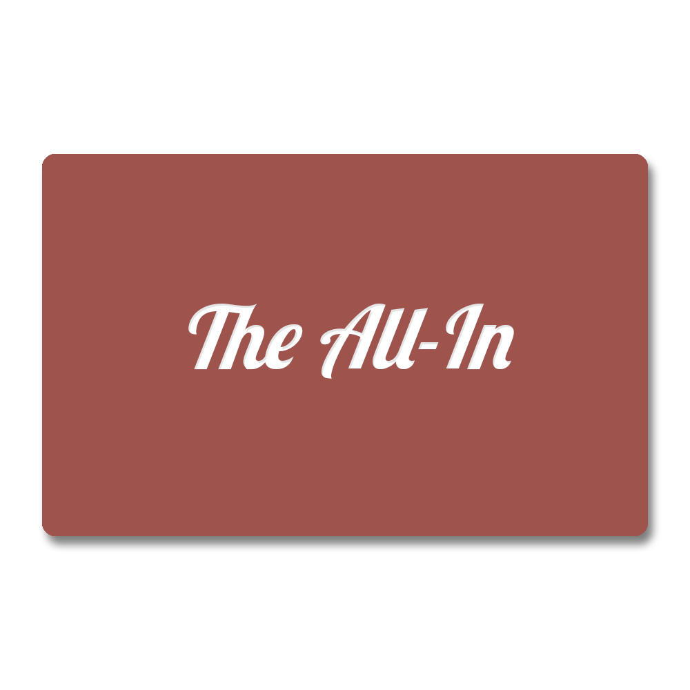 Membership CCLBCC // THE ALL-IN