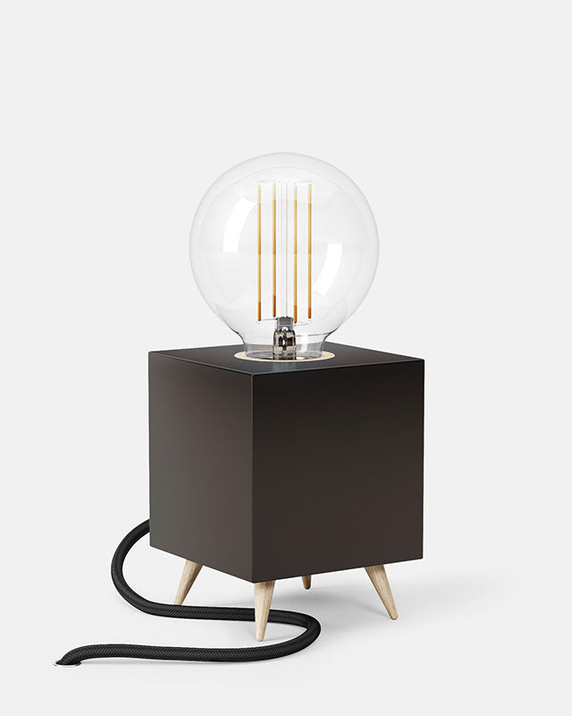 LOOMACUBE table lamp - black