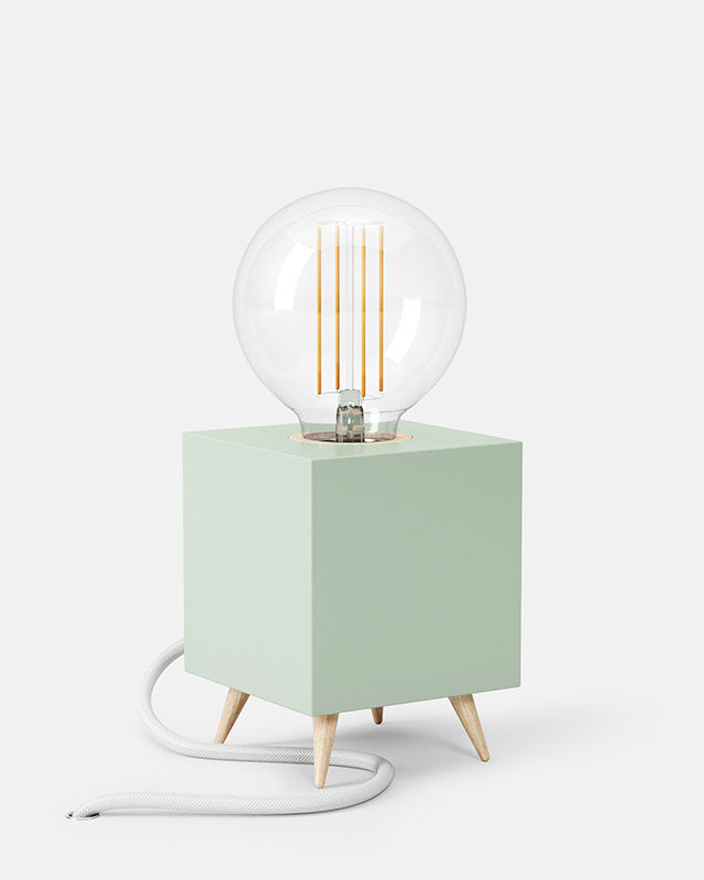 LOOMACUBE table lamp - mint