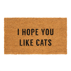 Tapis 'Hope You Like Cats'