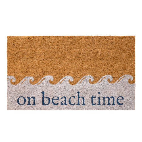 Doormat 'On Beach Time'