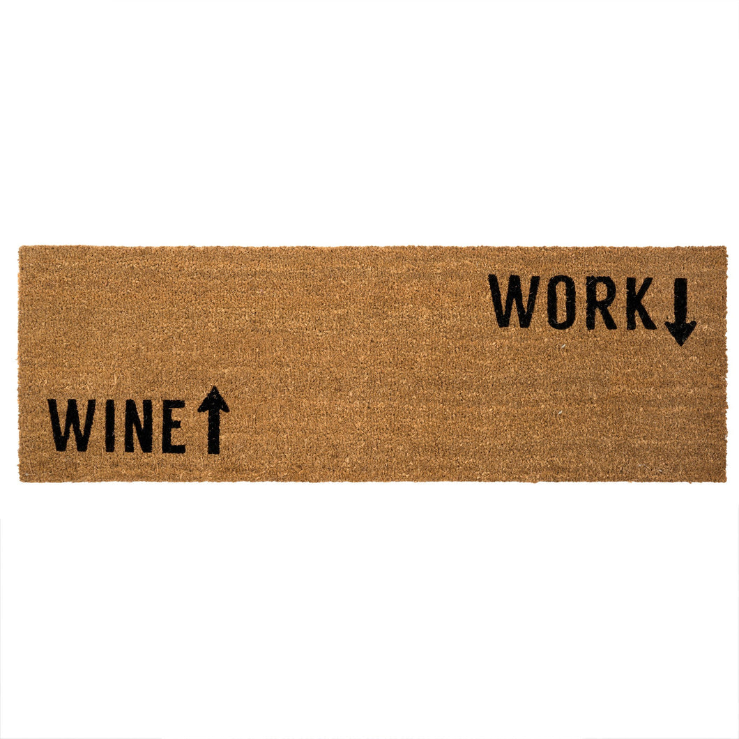 Tapis 'Wine Work'