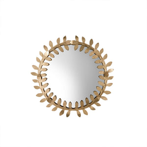 "Miroir ""Gold Vines"", rond"