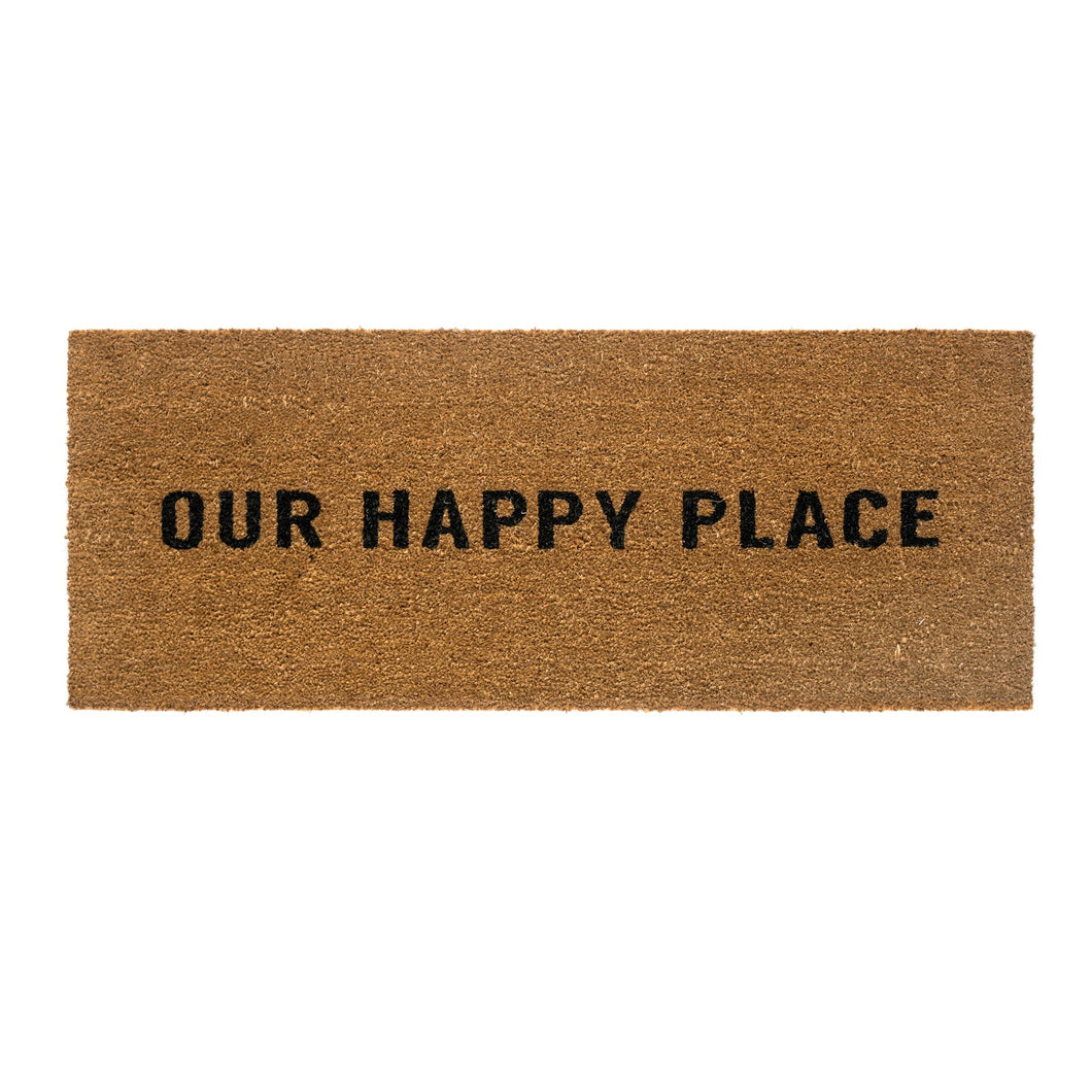 Doormat 'Our Happy Place'