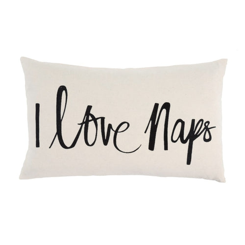 21x12 I Love Naps Cushion