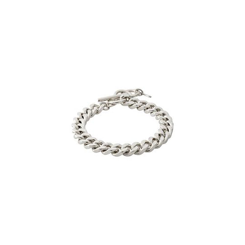 PILGRIM SILVER CHAIN BRACELET : WATER ELEMENT