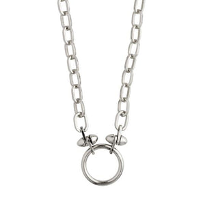 COLLIER AFFECTION EN ARGENT PÈLERIN