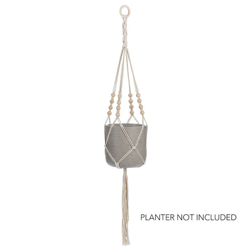 Planter Hanger with Beads