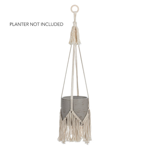 Planter Hanger with Fringe