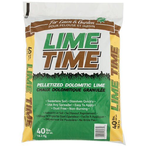 Granulated dolomitic lime LIME TIME 18.2KG