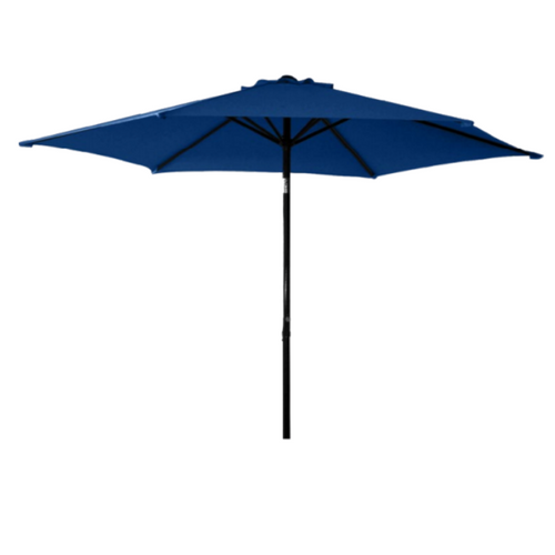9' ALUMINUM UMBRELLA WITH CRANK/TILT