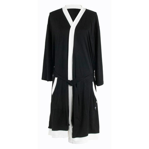 Hello Mello Lounge Robe Black