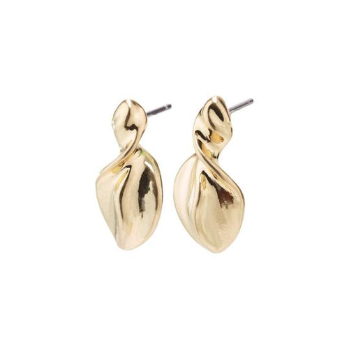 PILGRIM GOLD PLATED HOLLIS EARRINGS