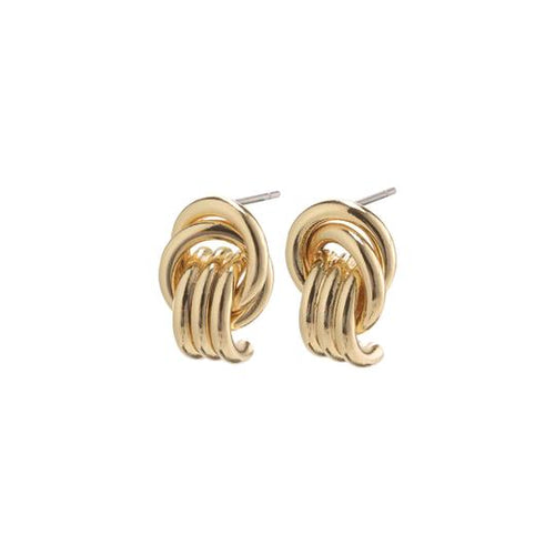 PILGRIM GOLD PLATED DORIS EARRINGS